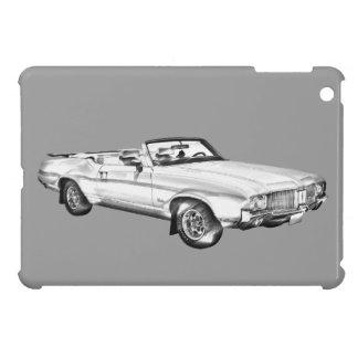 1971 Oldsmobile Cutlass Supreme Car Illustration iPad Mini Case