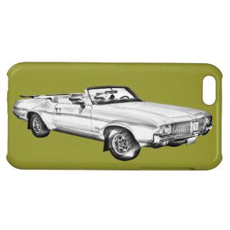 1971 Oldsmobile Cutlass Supreme Car Illustration iPhone 5C Case