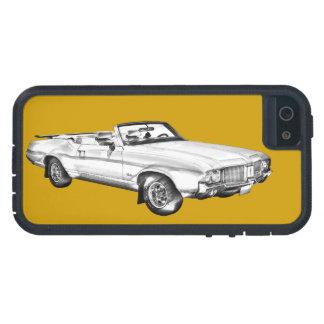 1971 Oldsmobile Cutlass Supreme Car Illustration iPhone SE/5/5s Case