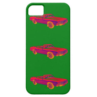1971 Oldsmobile Cutlass Supreme Muscle Car Pop Art iPhone SE/5/5s Case