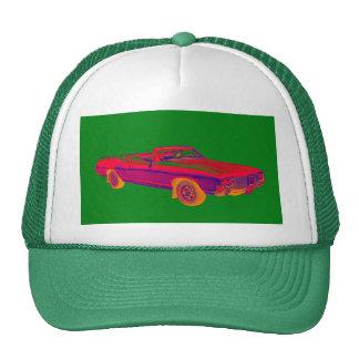 1971 Oldsmobile Cutlass Supreme Muscle Car Pop Art Trucker Hat