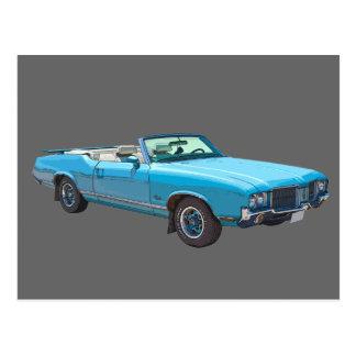 1971 Oldsmobile Cutlass Supreme Muscle Car Postcard