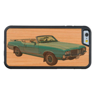 1971 Oldsmobile Cutlass Supreme Muscle Car Carved® Cherry iPhone 6 Bumper Case