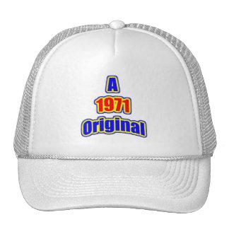 1971 Original Bl Red Mesh Hat