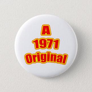 1971 Original Red Button