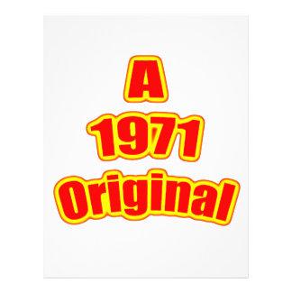 1971 Original Red Flyers