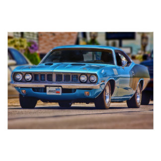 1971 Plymouth 'Cuda 383 Posters