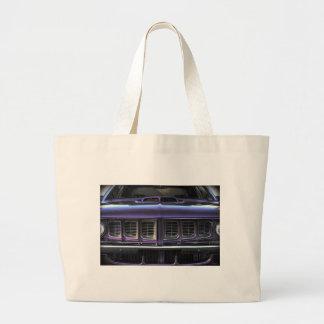 1971 Plymouth 'Cuda Large Tote Bag