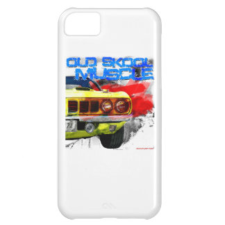 "1971 Plymouth Cuda ""Old Skool Muscle"" iPhone 5C Case"