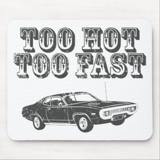 1971 Plymouth Hemi GTX Mouse Pad