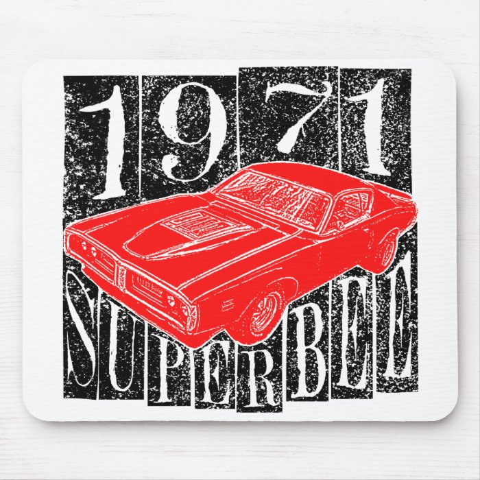 1971 Super Bee Mouse Pad