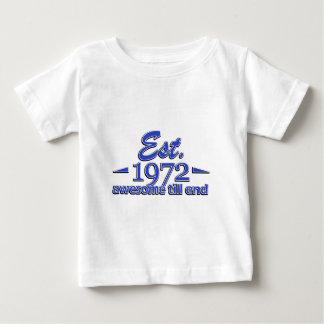 1972 birthday designs shirt