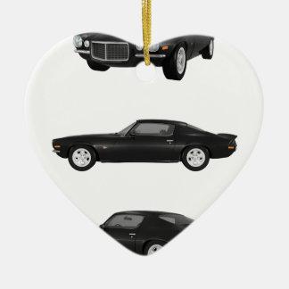 1972 Camaro: Ceramic Ornament