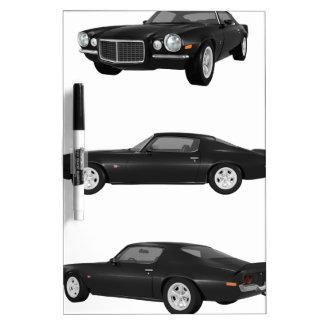 1972 Camaro: Dry Erase Board