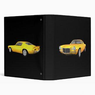 1972 Camaro Z28: Muscle Car: Yellow Finish: Binder
