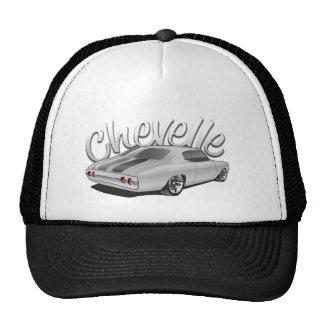 1972 Chevelle Custom Illustration Trucker Hat