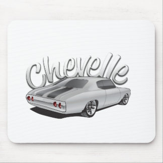 1972 Chevelle Custom Illustration Mouse Pad