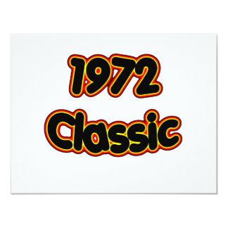 1972 Classic 4.25x5.5 Paper Invitation Card