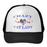 1972 Crazy Cat Lady Hat