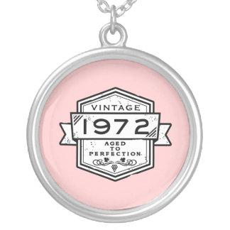 1972 envejecido a la perfección collar