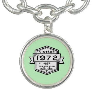 1972 envejecido a la perfección pulseras