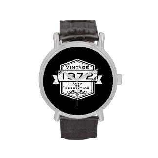 1972 envejecido a la perfección relojes