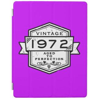 1972 envejecido a las cajas del móvil de la cover de iPad
