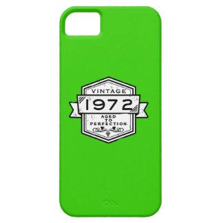 1972 envejecido a las cajas del móvil de la iPhone 5 Case-Mate cárcasa