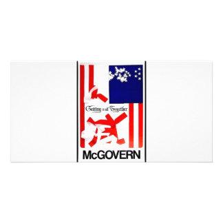 1972 Mcgovern Custom Photo Card