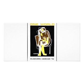 1972 Mcgovern - Shriver Photo Card Template