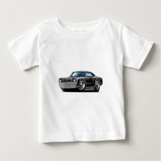 1972 Monte Carlo Black Car Baby T-Shirt