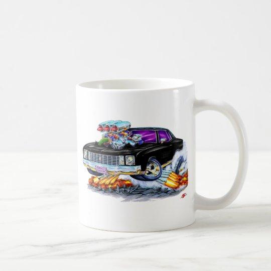 1972 Monte Carlo Black Car Coffee Mug