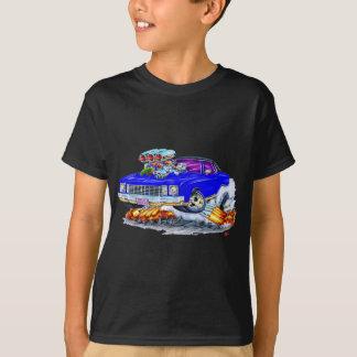 1972 Monte Carlo Blue Car T-Shirt