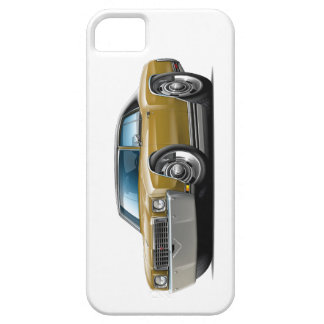 1972 Monte Carlo Gold-Black Top Car iPhone SE/5/5s Case
