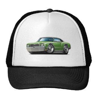 1972 Monte Carlo Green-Black Top Car Trucker Hat
