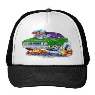 1972 Monte Carlo Green Car Trucker Hat