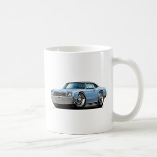 1972 Monte Carlo Lt Blue-Black Top Car Coffee Mug