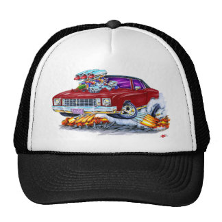 1972 Monte Carlo Maroon Car Trucker Hat