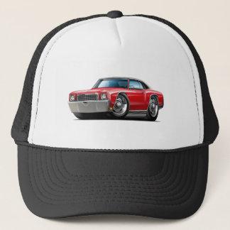 1972 Monte Carlo Red-Black Top Car Trucker Hat