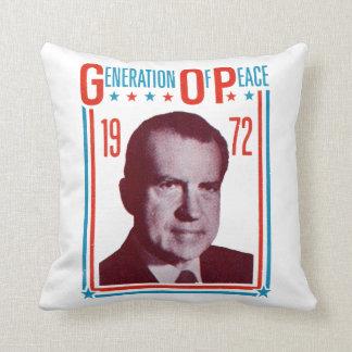 1972 Nixon Presidential Campaign Pillows
