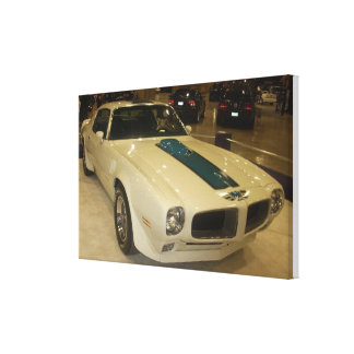 1972 Pontiac Trans Am Hardtop Stretched Canvas Print