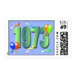 1973 40.os sellos del cumpleaños