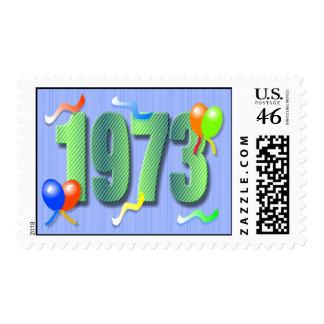 1973 40th Birthday Stamp