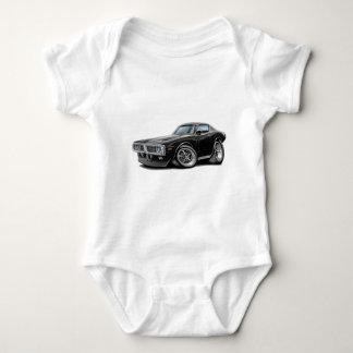 1973-74 Charger Black Car Baby Bodysuit