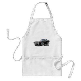 1973-74 Charger Black Opera Top Car Adult Apron