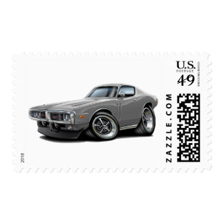 1973-74 Charger Grey Car Postage