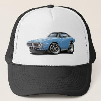 1973-74 Charger Lt Blue-Black Top Car Trucker Hat