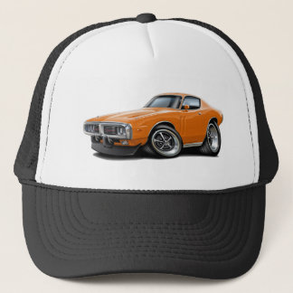1973-74 Charger Orange Car Trucker Hat
