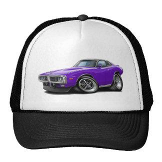 1973-74 Charger Purple-Black Opera Top Car Trucker Hat