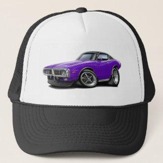 1973-74 Charger Purple-Black Top Car Trucker Hat